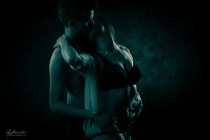 Erotisches Paar Akt Fotoshooting