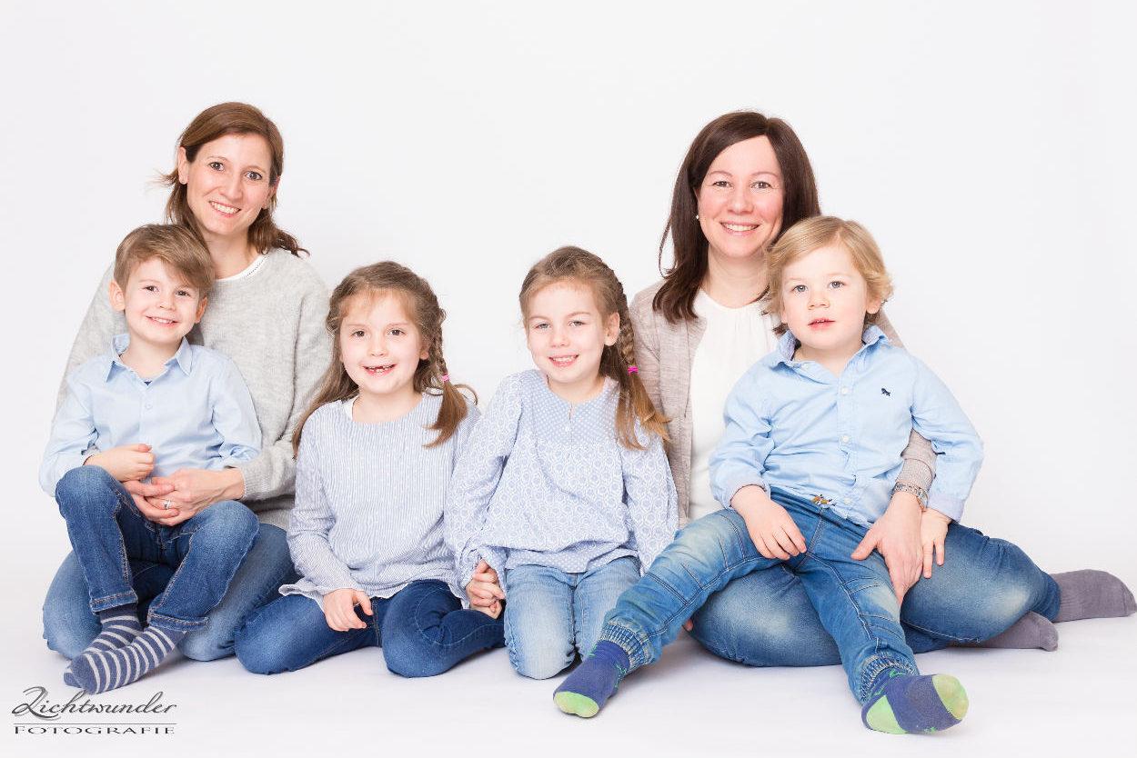 Preise für Fotoshootings ab sechs Personen (z.B. Familie, Gruppe, Jungesellinnen Abschied)