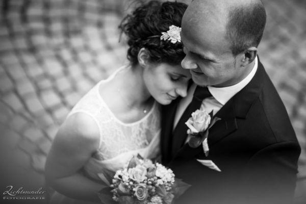 Hochzeitsfotograf Bonn Brautpaar Schwarz-Weiss
