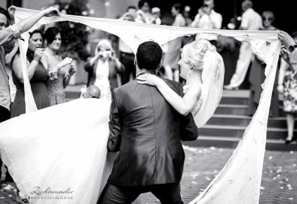 Bonn Hochzeitsfoto vom Brautpaar