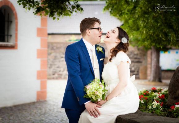 Brautpaar in Bonn, Hochzeitsfotografie
