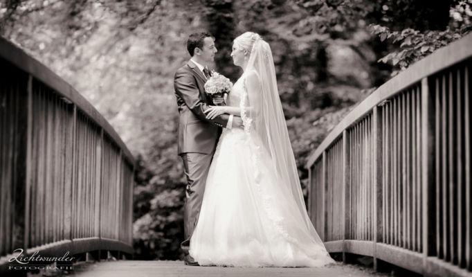 Fotograf Hochzeit Brautpaar Auf Bruecke Bonn 1600px