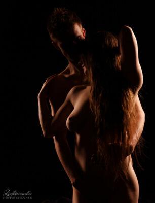 Paar Aktshooting in Köln, erotische Fotos für Paare